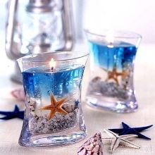 Noël Sented verre Jar Aroma cadeau fait à la main naturelle saine bougie de gel