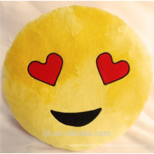 Benutzerdefinierte verschiedene Emoticon Plüsch Emoji Kissen