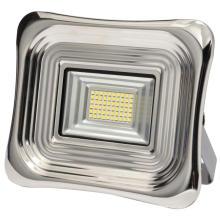 30W Stahl Aluminium Solar Flutlicht