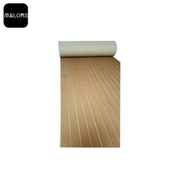 Melors EVA Marine Brushed & Grooved Synthetisches Teakholz