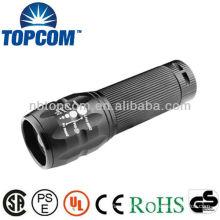 CREE Q5 Focus Adjust Zoom LED mini Flashlight torch