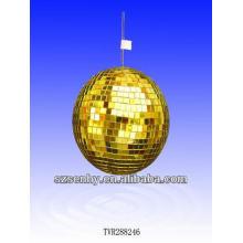 Boule de miroir en or de 30CM / boule disco / balle en mosaïque