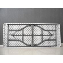 6FT Strong Rectangular Plastic Folding Table
