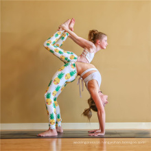 Embroidered Kids Girls Child Leggings Yoga Pants