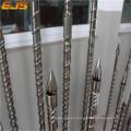 Barril del tornillo 38crmoala máquina de moldeo por inyección
