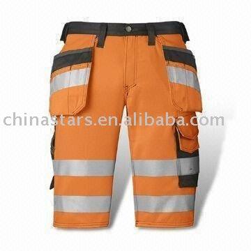 Pantalon de sécurité réfléchissant chauffant à haute visibilité