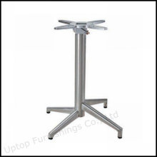 Алюминиевый сплав 4 зубца складной стол база (СП-ATL235)
