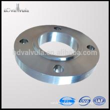"""Standard 1/2""""-24"""" carbon steel a105 slip on flange DIN flange"""