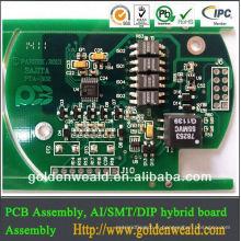 rohs oem pcb assemblage sonnette pcb Fabrication avec contrôleur de l'usine