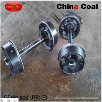 Chine Roues de voiture d'exploitation ferroviaire d'acier de fonte de charbon 600mm / 762mm / 900mm