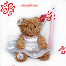 Plüsch Handgefertigte Bär Puppe
