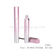 Fancy rosa refrescante color rímel tubo delgado rímel tubo gradiente rosa rímel tubo