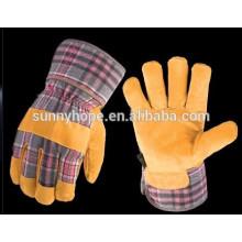Sunnyhope mens couro solda luvas de mão
