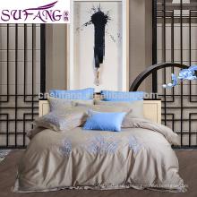 2017Amazon горячая Распродажа двойной Размер роскошные постельные принадлежности из бамбука постельное белье Утешитель роскошные