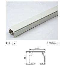 Pulverbeschichtetes Aluminiumschienenprofil