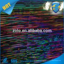 ZOLO filme de holograma de venda muito quente, laminação de holograma