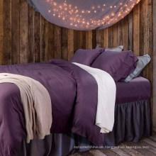 Luxus Hotel 4 Stück 100% Polyester Bettwäsche Blatt zum Verkauf