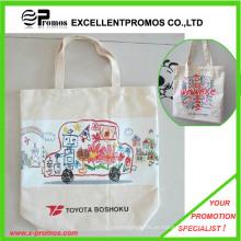 De alta qualidade promocional algodão Canvans saco de compras (EP-B9104)