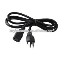 Câble de cordon d'alimentation à cordon à cordon à 2 broches de haute qualité pour ordinateur portable Ps2 Ps3