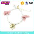Fashion Jewelry Pearl Charm Bracelet for Pretty Girls