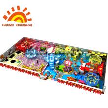 Combinação de equipamentos de playground indoor de doces