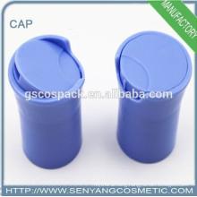 2015 qualified plastic test tubes disc top cap screw cap