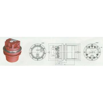 El accionamiento final del motor de viaje se adapta a KOMATSU PC15R8, PC07 PC14R2 MTM02, PHV