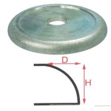Brand New sti tps diamond polishing pads sponge block type hand round edge wheels