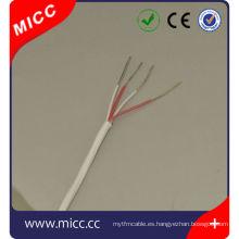 4x24AWG-PFA / PFA Termopar cable PT100 / cobre niquelado PT100 24awg termopar Cable de extensión