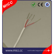 4x24AWG-PFA/PFA PT100 thermocouple wire/Nickel plated copper PT100 24awg thermocouple Extension wire