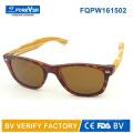 Fqpw161502 guter Qualität bunte Bambus Tempel Sonnenbrillen