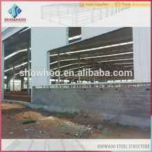 prefabricated warehouse building design steel structure installation