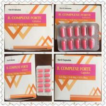 Forte Vitamina B Cápsulas Complejas