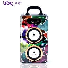 Fabrik Preis 20 Watt 2000 mAh Bluetooth Tragbare Drahtlose Lautsprecher karaoke system leere lautsprecher box
