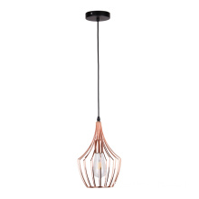 Lustre moderne simple en fer