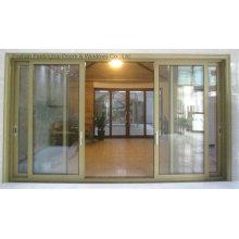 Высокое качество нескольких алюминиевых раздвижных дверей (фут-Д126)