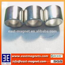 Großer Ring-Nickel beschichtete ndfeb Magnet / Neodym-großer Ringmagnet für Verkauf