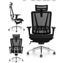 office ergonomic executive boss full mesh with headrest comfortable chair