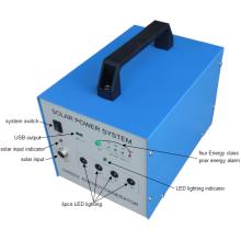 Sistema solar portátil original de la potencia de 30W de la fábrica para el área pobre de la electricidad