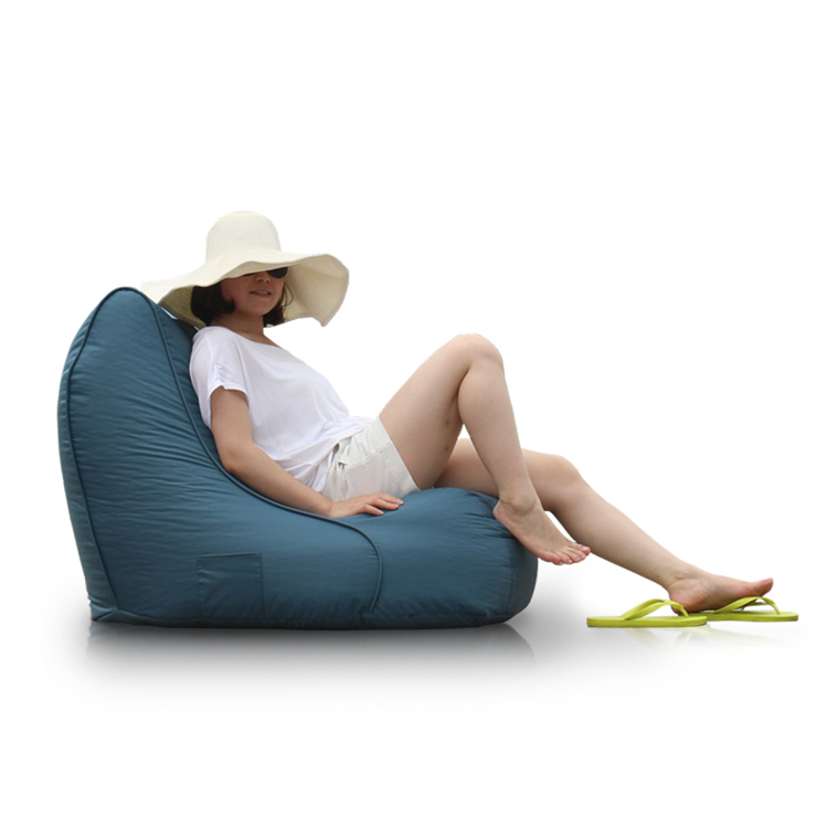 Multi-color bean bag shaped inflatable sofa relax chair