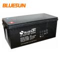 Solar Power Battery 12V 200AH Lead Acid  Battery Storage Battery Bluesun Solar