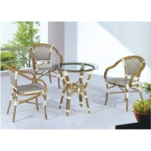 Cheap Patio Waterproof bamboo table and chair