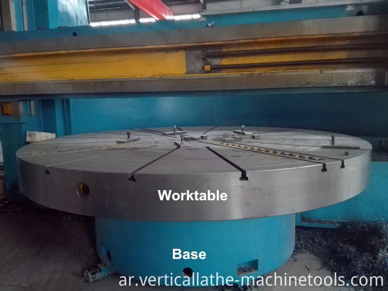 single column vertical lathe
