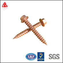 China manufactrer copper full thread screw and fastener