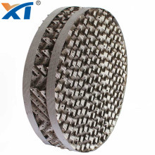 125X 350Y 500Y metal structured packing perforated plate corrugated packing