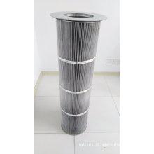Cartucho de filtro antiestático / anti-óleo com membrana de PTFE