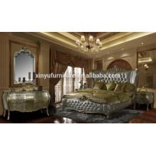 classical queen bedroom furniture XYN484