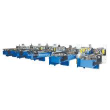 Máquina de laminação de rolo de quilha de corte de alta velocidade