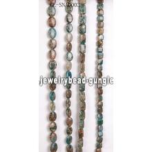Bolas de piedra de piel de serpiente preciosa especial DIY para ventas