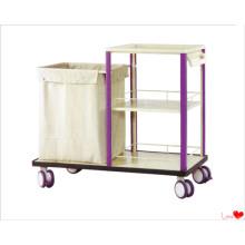 Chariot à linge médical de luxe / panier propre (KS-B35A)